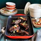Asian Sticky Ribs with Rice