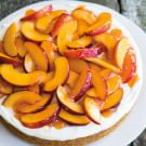 Honey Nectarine Cheesecake