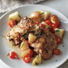 Herbed Chicken with Zesty Potato Salad
