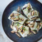 Fish Roasted with Shiitake Mushrooms