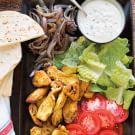 Chicken Shawarma with Tahini Sauce