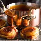 Mini Tartes Tatin with Caramel Sauce