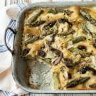 Lasagna with Asparagus and Morel Mushrooms