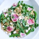 White Bean Salad with Spring Vegetables