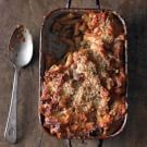 Baked Ziti with Eggplant and Smoked Scamorza