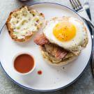 Pork Breakfast Burgers
