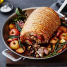 Porchetta with Dried Fruit Stuffing
