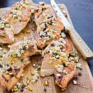 Grilled Chicken Breasts with Feta and Pine Nut Relish