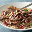 Mediterranean Lamb Shanks with Israeli Couscous Salad