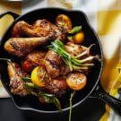 Honey-Glazed Lemon Chicken
