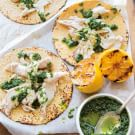 Grilled Red Snapper Tacos with Chimichurri