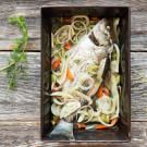 Rockfish Braised with Fennel and Onions