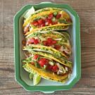 Two-Layer Tacos with Pinto Beans and Guacamole