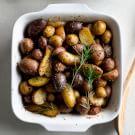 Rosemary Garlic Oven-Roasted Potatoes