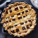 Pecan Pie with Lattice Crust