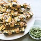 Chicken & Zucchini Spiedini with Salsa Verde