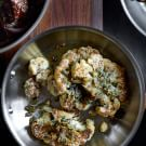 Pan-Roasted Cauliflower with Gremolata