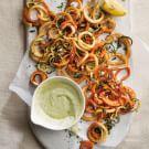 Sweet Potato and Zucchini Haystack