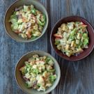Spaetzle with Cabbage, Apple and Alpine Cheese