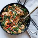 Fried Rice with Shrimp and Broccolini