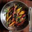 Pan-Roasted Rainbow Carrots