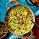 Cashew-Cilantro Rice