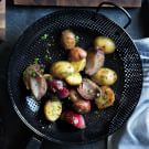 Grilled New Potatoes with Red Onions
