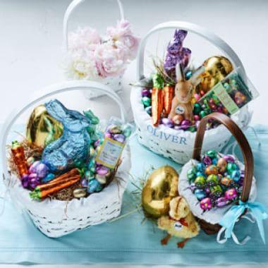Filling Easter Baskets