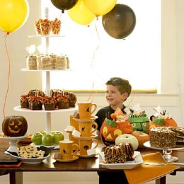 A Haunting Halloween Buffet