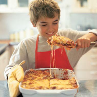 Dinner Prepared by the Kids