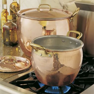 About Ruffoni Hammered Copper Cookware