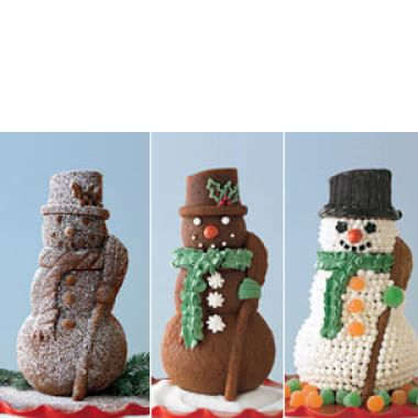Assembling & Decorating the Snowman Cake