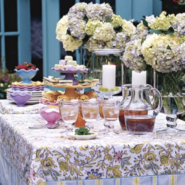 Setting the Mother's Day Table