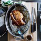 Maple-Bourbon Glazed Kurobuta Ham