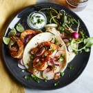 Shrimp Tacos with Padrón Peppers