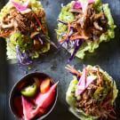 Easy Pulled Pork Cabbage Cups