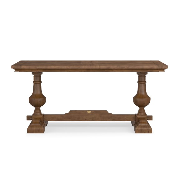 Balustrade Dining Table, Rectangle, Vieux Bois