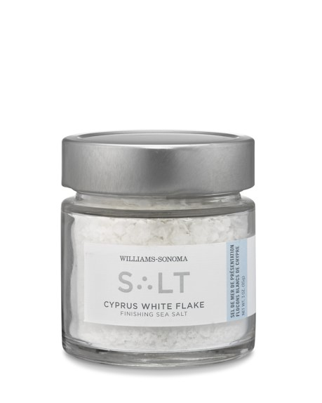 Williams-Sonoma Cypress White Flake Finishing Sea Salt