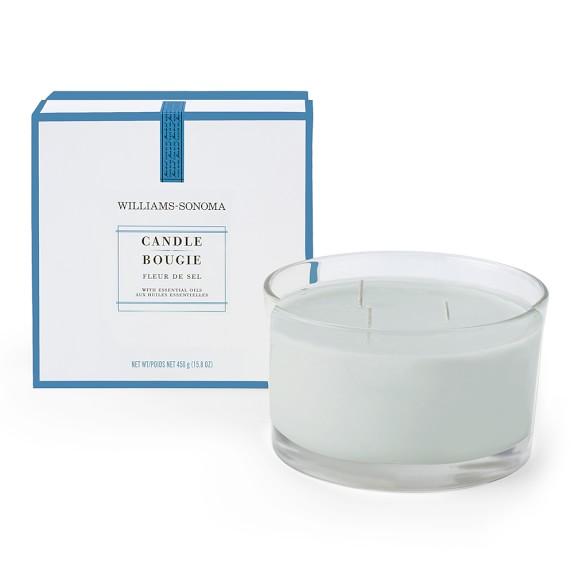 Williams-Sonoma Essential Oils Triple-Wick Candle, Fleur De Sel