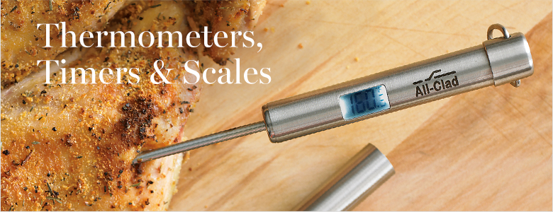 Timers, Thermometers & Scales