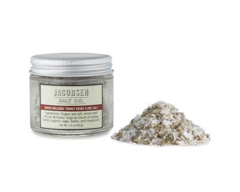 Jacobsen Salt Co. Chuck Williams' Turkey Herbs Flake Salt
