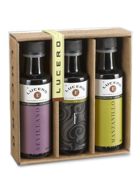 Lucero Extra Virgin Olive Oil Gift Set
