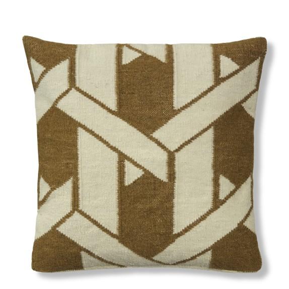 Cane Rug Pillow Cover, Dachshund