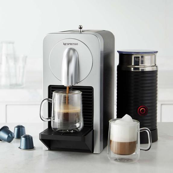 Nespresso Prodigio Espresso Maker with Aeroccino Milk Frother Williams-Sonoma