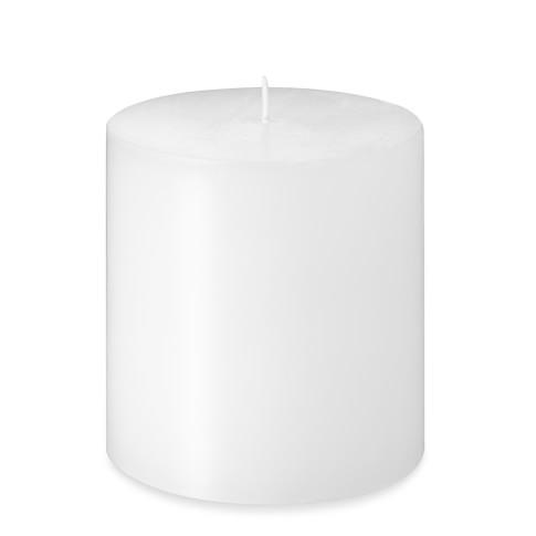 Pillar Candle, White, 3