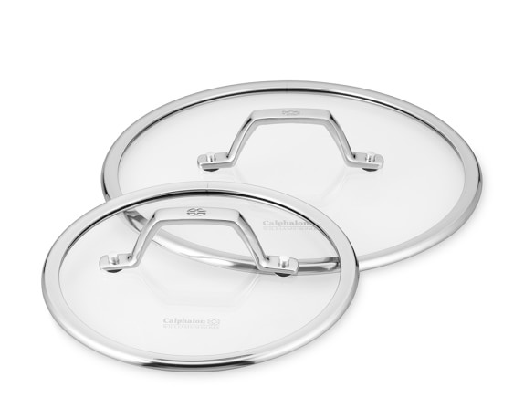 Calphalon Elite Nonstick Glass Lid Set, 8
