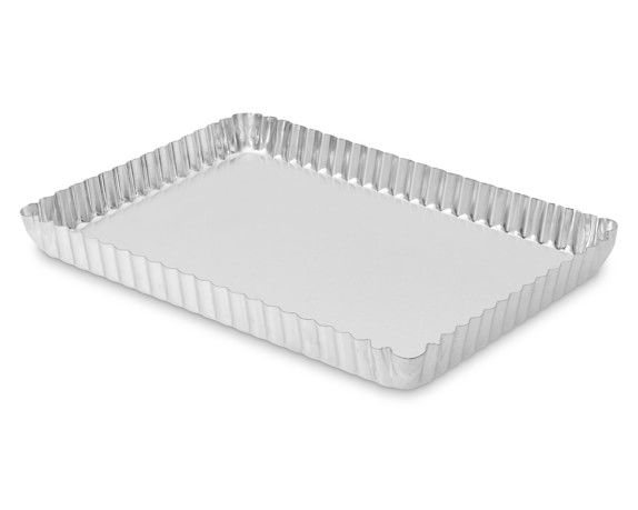 Gobel Standard Traditional Finish Rectangular Tart Pan, 11 1/4