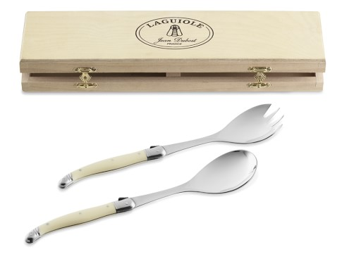 Laguiole Serving Set, Ivory