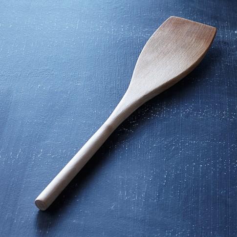 Williams-Sonoma Open Kitchen Beechwood Angled Spatula