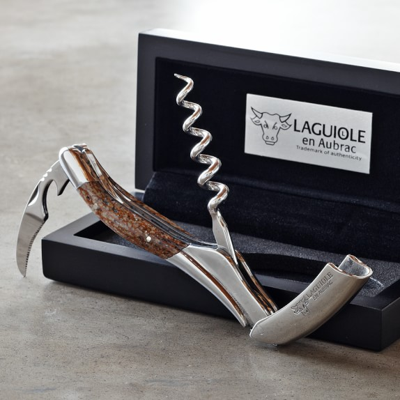 Laguiole En Aubrac Waiters Corkscrew Wine Opener, Mammoth
